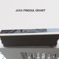TERMURAH JASA PROFIL GRANIT/PINGGUL/BULLNOSE HALFNOSE 60 X 60