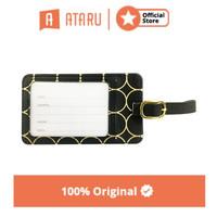 ataru label koper - hitam/gold