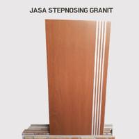 TERMURAH JASA STEPNOSING GRANIT/PLINT STEP NOSING 80 X 80