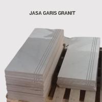 TERMURAH JASA GARIS GRANIT / STEPTILE 120 X 120