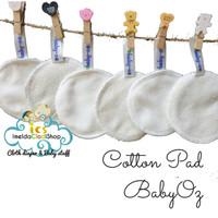 Reuseable Cotton pad Baby Oz kapas pembersih muka make up toner babyoz