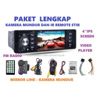 Tape single din MirrorLink Android Video Player (1 Paket)