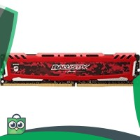 NEW PRODUCT CRUCIAL BALLISTIX DDR4 8GB PC2400 LONGDIM RAM - RED