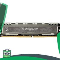 NEW PRODUCT CRUCIAL BALLISTIX DDR4 4GB PC2400 LONGDIM RAM - GREY