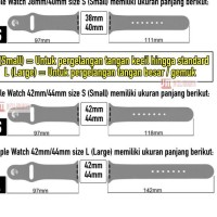 Promo Special Price.. A Tali Jam Strap Apple Watch 38mm 40mm 42mm 44mm