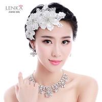 Aksesoris Headpiece Sanggul Pengantin Wanita l Hairpieces Lenka AWM006