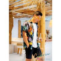 Kemeja Pria TROPICAL Shirt Wanita Pantai CEDRIC SUMMER Hawaiian