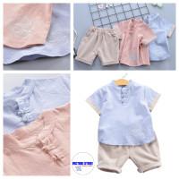 Cheongsam Anak Pakaian China Anak Baju Imlek Anak Laki Laki Import