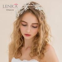 Aksesoris Tiara Sanggul Pesta Wedding lHairpieces Pesta Lenka - TPM014