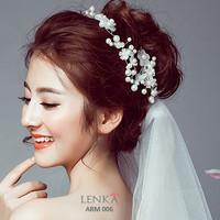 Aksesoris Sanggul Rambut Pengantin l Lenka - ARM006