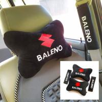 Bantal Mobil Headrest Suzuki Baleno Bordir