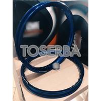 vrt76 Velg Tdr W Shape 140X160 Ring 17 Biru Blue Series Original Tdr