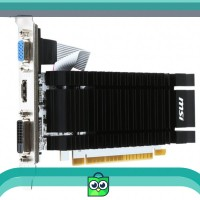 MSI GEFORCE GT 730 WHITE PCB 2048MB 2GB DDR3 64BIT N730K-2GD3H-LP