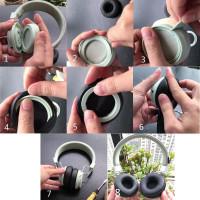 1 Pasang Bantalan Telinga Ukuran 65mm Untuk Ath Fc707 Fc700 Ath-S100