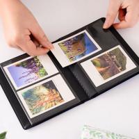 Lucky Buku Album Foto Polaroid Fujifilm Instax Mini 64 Saku 3 Bahan