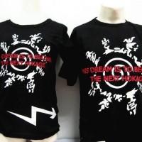 T-Shirt Kaos Baju Naruto Couple Sepasang