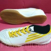 Sepatu Futsal Adidas F50 White Yellow