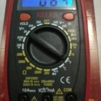 Avometer/multitester digital merk heles (UX369TR)