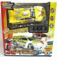 Rc Auldey Race Tin- DRIFT (Yellow)