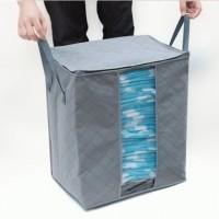 Bamboo Charcoal Storage Box Tinggi - Cloth Organizer ( Tas Penyimpanan )