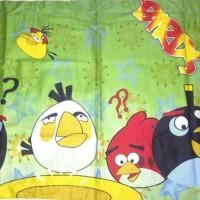 Sarung Bantal Cinta - Angry Bird Pelangi