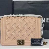 Chanel Le Boy Bag Apricote