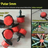 Drip Putar - Adjustable Dripper 8 lubang