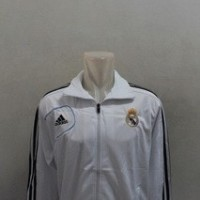 Jaket Real Madrid Putih