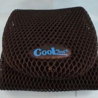 CoolTech Asli - Sarung Jok Motor Hitam - Anti Panas Termurah Berkualitas