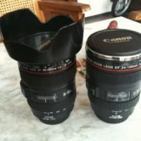 Mug Replica Lensa Kamera / Mugs Lens (Plastik)