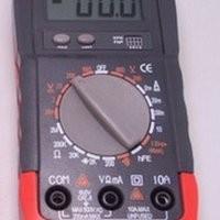 Avometer/multitester digital merk heles UX838 TR