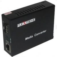 Flextreme FL-8110G-SFP-AS Media Converter 10/100/1000 Mbps to SFP Slot