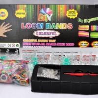 Rainbow Loom Bands - Starter Kit 600pcs Karet (Harga Termurah)!!