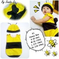 Baju Bayi Kostum Binatang Lebah