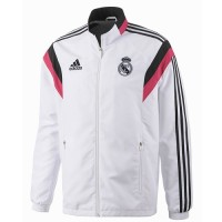 Jaket Real Madrid White 2014-2015 Grade Ori
