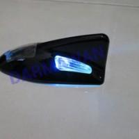 Antena Sirip Hiu LED Sensor Getar Hitam Avanza
