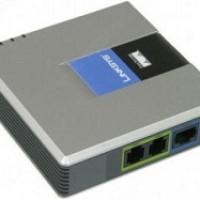Linksys PAP2T 2 Port FXS Voip ATA Converter