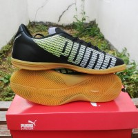 Sepatu Futsal Puma Evo Speed Hitam Classic