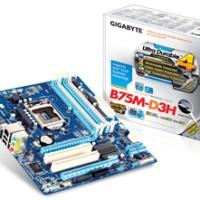 Motherboard Gigabyte B75M untuk PAKET CORE i7 (3770) 3.4 GHZ