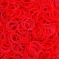 Karet Rainbow Loom Bands Isi 300 Pcs Wangi Merah