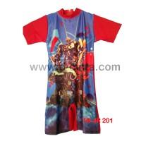 Baju Renang Diving Transformer, kode TB-JR 201