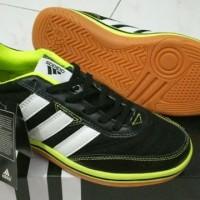 Sepatu Futsal - Adidas Sala Hitam Hijau Made In Italy