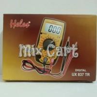 Digital Multimeter / Multitester / Avometer Heles UX837TR