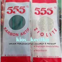 Arang Karbon Aktif / Zeolite Filter Aquarium 555 (L)