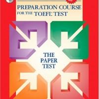 Answer Key Longman Preparation Course For TOEFL TEST: Paper Test