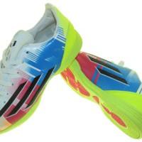 sepatu futsal adidas import f50 adizero messi GO putih mix
