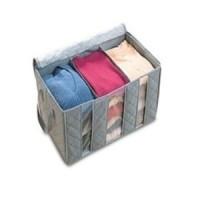 Storage Box Bamboo Charcoal Clothing Box 65 Liters