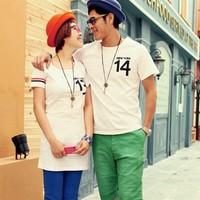 T-Shirt Couple Import Korea Style - J31205