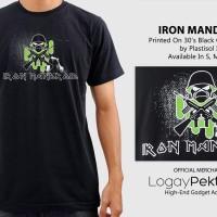 Kaos Android T-Shirt Iron Mandroid  - LogayPektay Design - Baju Iron Maiden Metal