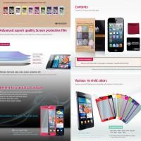 Mercury Color Mirror Film iPhone 5 - 5S - iPhone 5C